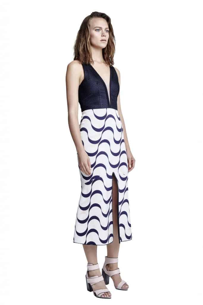 Get This Dress And Accessories At Its Fashion Metro In: Manning Cartell - Sonic Wave Dress