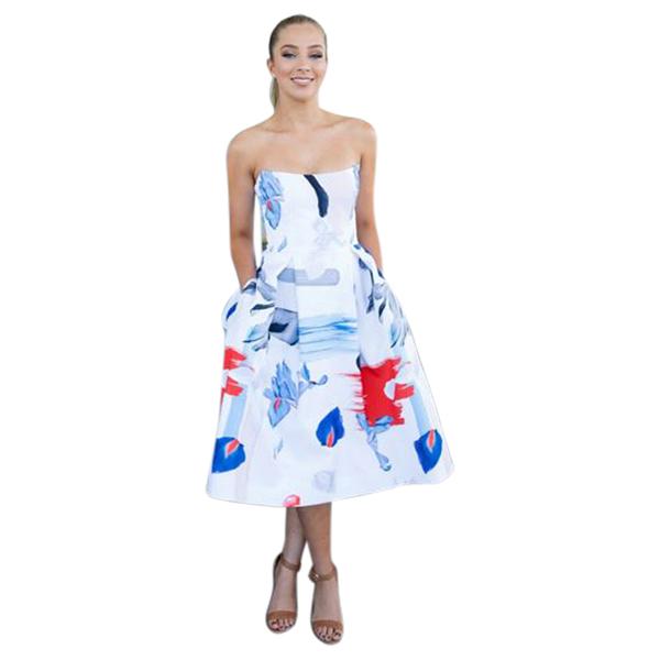 a43ba62b8637 Nicholas Iris Floral Ball Dress - Get Dressed Hire