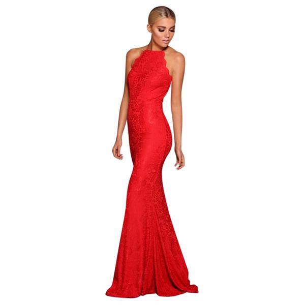 Elle Zeitoune - Lori Dress – Red | All The Dresses
