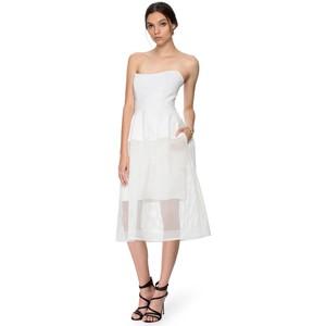 44f6f16fddb6 Nicholas Honeycomb Ball Dress – White