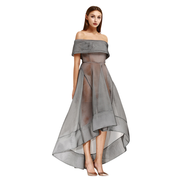 Bronx & Banco - Bronx & Banco Tulip Dress - Grey | All The Dresses