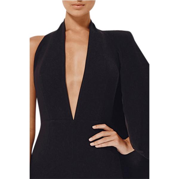 eae3513877a3 Misha Collection Juliana Half-Cape Pantsuit - Get Dressed Hire