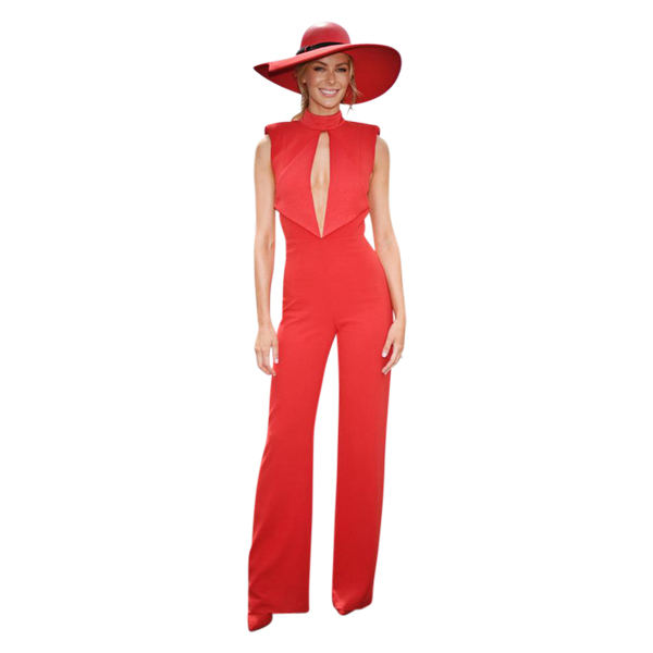 9cb708f74afb Misha Collection - Justine Pantsuit Red