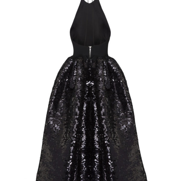 Alex Perry Wedding Gowns: Alex Perry - Gia Sequin Halter Midi Dress
