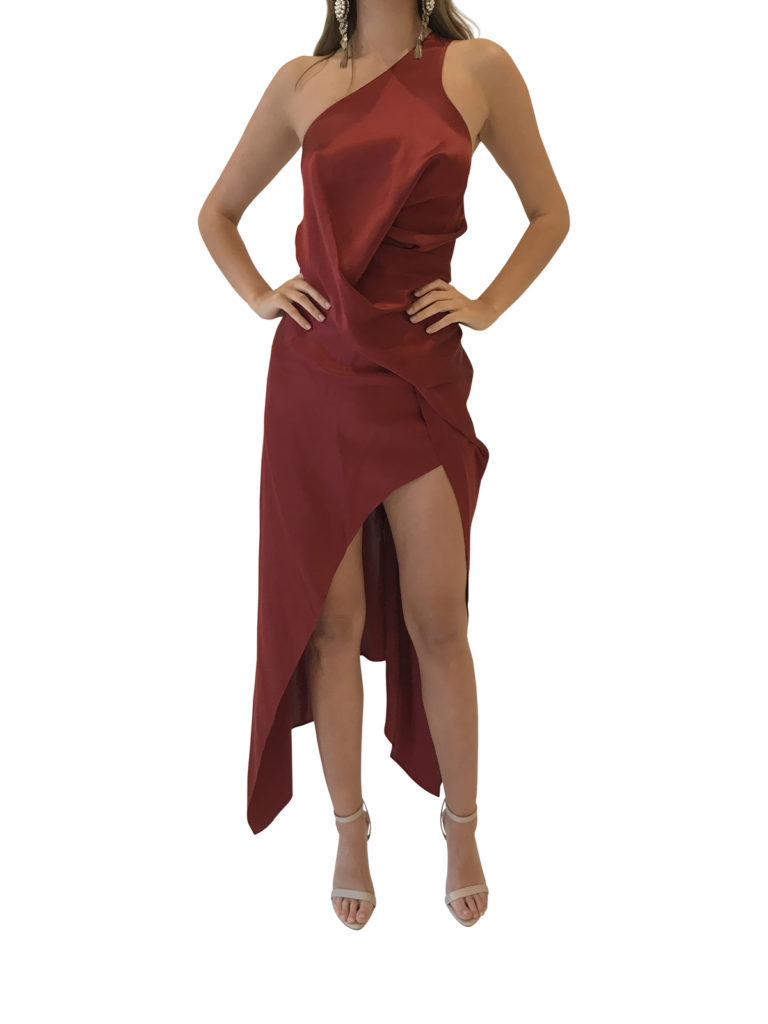 Get This Dress And Accessories At Its Fashion Metro In: One Fell Swoop - Philly Dress - Rust